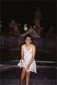 "Sharmini ""my love and angel"" Rome 2001"